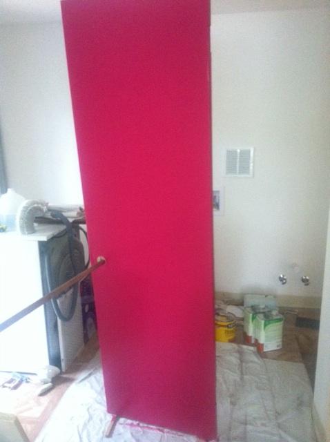 Guest Bathroom Door